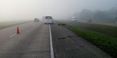 Un motociclista murió en Ruta 1