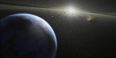 Un pequeño asteroide pasará muy cerca de la Tierra en octubre