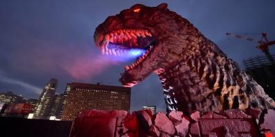 Godzilla visita Ciudad de México para rodar escena de su próximo filme