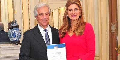 Vázquez recibió reconocimiento internacional por promoción de la salud