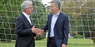 Vázquez y Macri oficializarán candidatura de Uruguay y Argentina al Mundial-2030