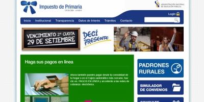 Solicitan al Ejecutivo revisar impuesto de Primaria en algunas localidades