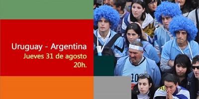 Uruguay Vs Argentina se podrá ver en la pantalla del IMPO