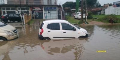Complicaciones en Ciudad de la Costa por intensas lluvias