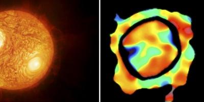 Captan la fotos y detalles en alta resolución de una estrella similar al Sol