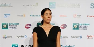 Garbiñe Muguruza, elegida jugadora del año
