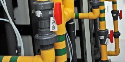 OSE inauguró planta en Vergara para tratamiento de líquidos residuales