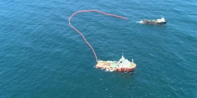 Armada realiza simulacro de derrame de petróleo