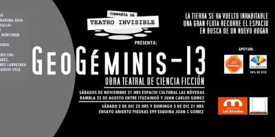 """Últimas funciones de """"Geo Géminis 13"""" en Las Bóvedas de la Ciudad Vieja"""