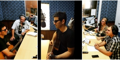 Tabaré Leyton en Radio Monte Carlo