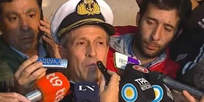"""Descartan que el """"ruido"""" sea del submarino San Juan"""