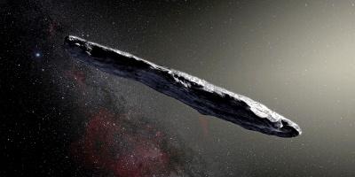 Se acerca un asteroide proveniente de otro sistema solar