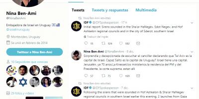 Embajadora de Israel debe explicar tuit sobre Jerusalén