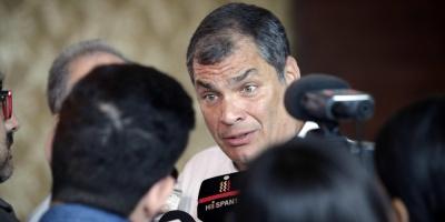 Ex presidente Correa denuncia alteración constitucional en Ecuador