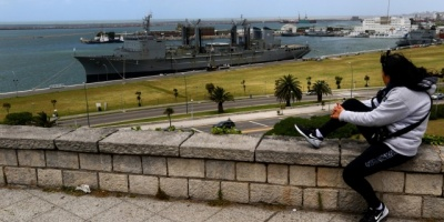 Familiares piden no olvidar a tripulantes de submarino argentino desaparecido