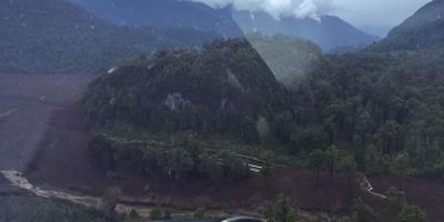 Tres muertos, 15 desaparecidos por alud en Chile