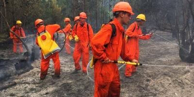 Bomberos mantiene piquetes en Las Vegas y la Floresta