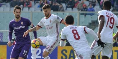 Milan empata con el Fiorentina y cierra su 2017 fuera de la zona europea