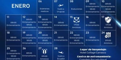 Emelec se entrenará en Uruguay