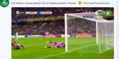 River Plate ficha al golero Franco Armani, proveniente del Atlético Nacional