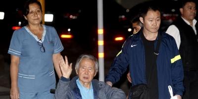 """Expresidente Fujimori declara que anhela un """"Perú sin rencores"""""""