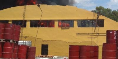Ubicaron el cuerpo del operario de la fábrica que ardió
