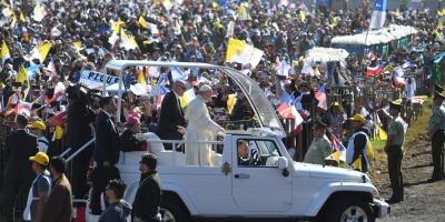 Mapuche acusada de crimen intentó entregar carta al papa explicándole su caso