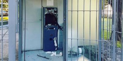 Dos delincuentes detenidos tras intento de robo a cajero