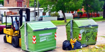 Montevideo instala 2000 contenedores nuevos