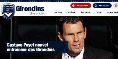 Poyet es el nuevo director técnico del Girondins de Burdeos
