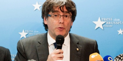 Gobierno español avisa a Puigdemont que puede ser detenido si sale de Bélgica