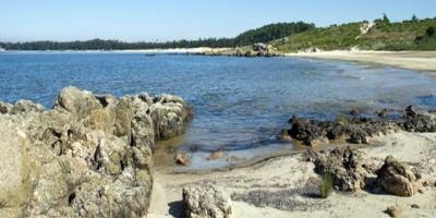 Playa Santa Catalina no está habilitada para baños