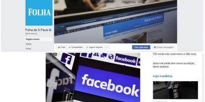 El diario Folha de Sao Paulo deja de publicar su contenido en Facebook