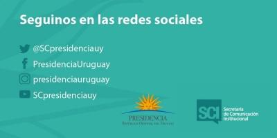 Presidencia presentó nuevas cuentas en redes sociales