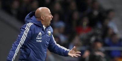 """Sampaoli: """"El resultado no fue tan futbolístico, fue muy anímico"""""""