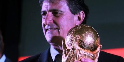 El trofeo del Mundial visita cuatro ciudades argentinas antes de Rusia 2018