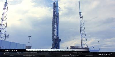 SpaceX realiza nueva misión de reabastecimiento de la Estación Internacional Espacial