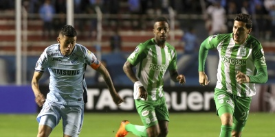 Bolívar recupera terreno con una victoria ante Atlético Nacional