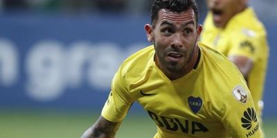 Tevez ayuda a Boca a cosechar un empate en la casa del líder Palmeiras