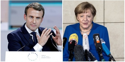 Merkel y Macron abogan por una estrecha coordinación aliada ante Siria