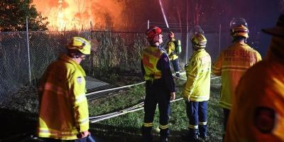Incendio amenaza dos barrios de Sídney, la ciudad más poblada de Australia