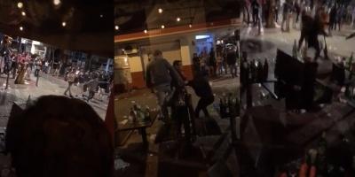 Una persona herida tras pelea callejera en el centro de Paysandú