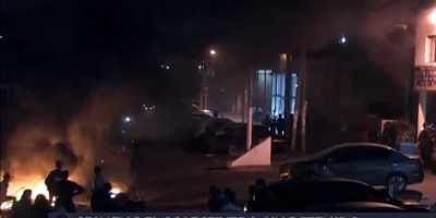 Conductores de ómnibus cortan autopista en Buenos Aires por asesinato de chofer