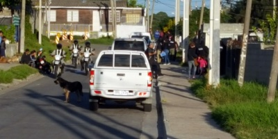 Importante operativo de seguridad en Cerro Norte