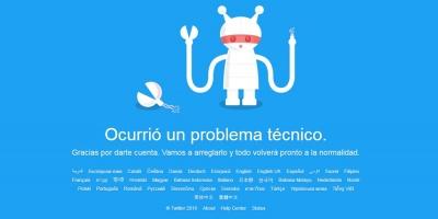 Twitter estuvo caído a nivel mundial por problemas técnicos