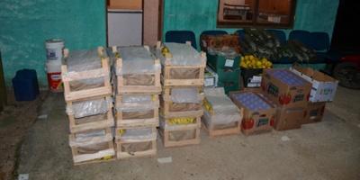Incautaron contrabando de frutas en Cerro Largo