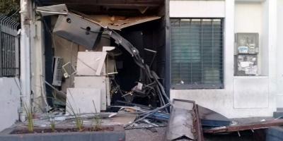 Robaron cajero mediante explosión en Lezica
