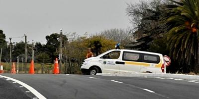 Dos niños murieron tras el accidente con vuelco de un remise en San Ramón