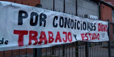 Docentes mantienen ocupación en el liceo 40 de Peñarol
