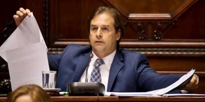 """Lacalle Pou y los fueros: """"Los legisladores no tenemos coronita"""""""